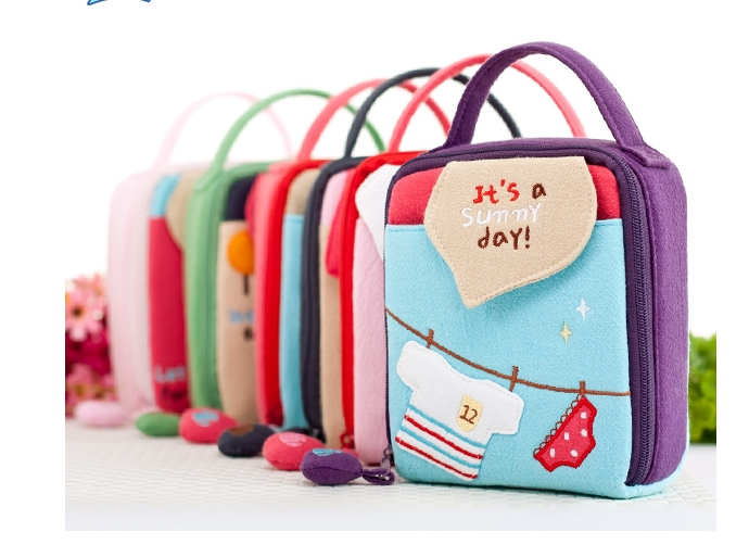 Free Shipping Country Style Girls Cosmetic Bags cases Camera case(China (Mainland))