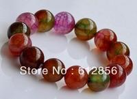 jewelry Wholesale,  New Bracelet agate and natural stone Ball Bead /  Amethyst Agate Quartz Aventurine Bead Bracelet