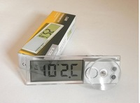 Mini Portable Digital LCD Display Indoor Home Thermometer Auto Car Meter