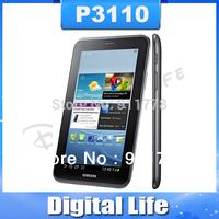P3110 Original Samsung P3110 Galaxy Tab 2 Tablet PC Capacitive Touchscreen Dual Core GPS WIFI 8GB Internal Storage Free Shipping