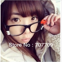 The fashion tide hello Kitty glasses frame bowknot frames non-mainstream lovely