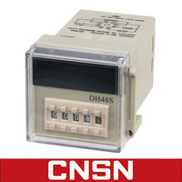 DH48S similar Omron H5CN digital display timer control relay