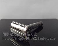 Gift copper alloy old fashioned safety razor manual razor 9306c pearl black