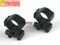 free shipping 100% new! Tactical 30mm High Rifle scope Weaver Ring Mount riflescope mount