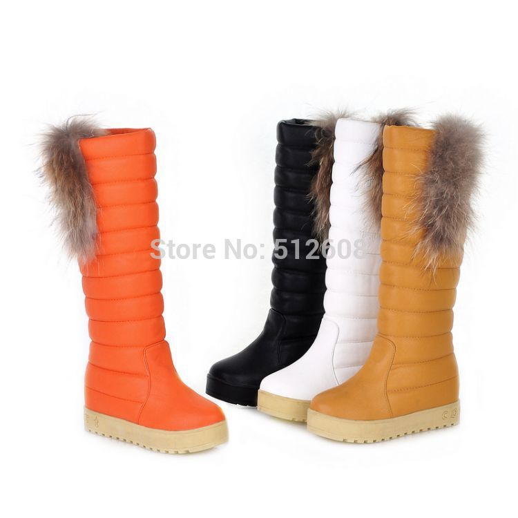 Ladies long winter boots