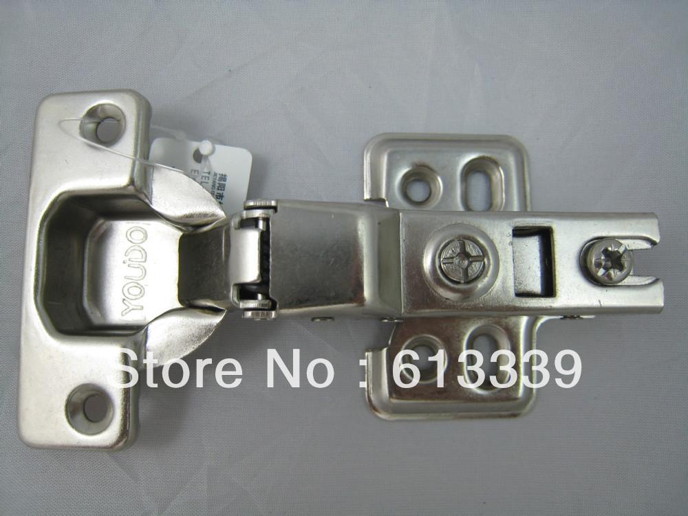 YD-602 Half overlay cabinet soft close hardware hinge fitting(China (Mainland))