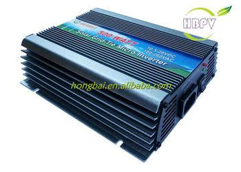 500W Solar Micro Inverter Grid Tie 120/230VAC 10.8-28VDC