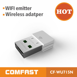 300Mbps high power wifi antenna usb wireless adapter comfast CF-WU820N wireless lan usb adapter driver ethernet adapter(China (Mainland))