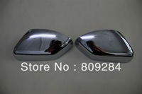 Free shipping! 2 pcs ABS chrome Side Mirror Cover Door Mirror Cover for Freelander 2