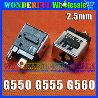 Freeshipping Original New 2.5mm DC Jack for Laptops for Lenovo IdeaPad G550 G555 G560