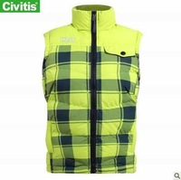 Free shipping Civitis women's jackets and coats hoodie vest fashioned designed women down filled winter coat42816
