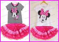 Скидка Цена 100% хлопок красочный пляж случайных Майами моды младенца девочек полоса платье