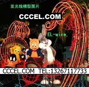 El luminescence decoration line bright viewnamely decoration viewnamely model viewnamely electrooptical - 3c light