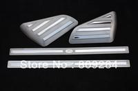 Free shipping! 4pcs Car door sill Stainless steel door sill for  Freelander 2