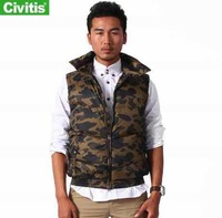 Free shipping Civitis winter coat for man   polo down vest  fashion designed mens vest pattern  42380