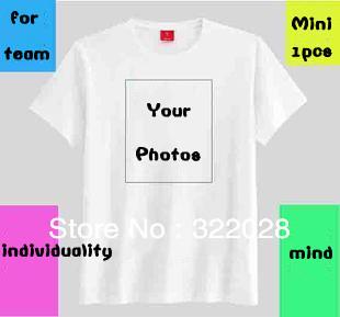 Free shipping digital printing,DIY personalized T-shirt ,CUSTOM t-shirt, DIY LOGO T-shirt clothing ,OEM any design logo print