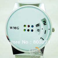 Swivel plate general quartz watch vampish fashion strap watch multicolor-free shipping