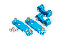 Free shipping Kyosho MP7.5 Aluminum Blue Aluminum Adjustable Engine Mount with Heat Sink spare parts for RC car