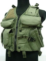 SWAT Airsoft Hunting Combat Tactical Assault Vest OD free ship