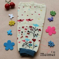 Free shipping 2012 new winter baby leggings  girl and boy tights pants top quality kids trousers Yellow leg sock Legging