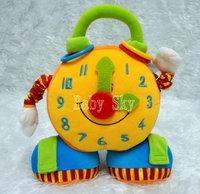 Tolo puzzle alarm clock cloth dolls safety mirror baby toy children toys