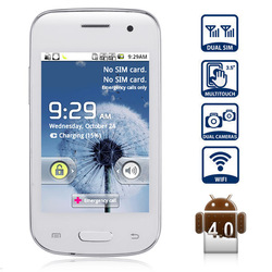 Free Shipping! Y9300+ Android 4.0 Smartphone with 3.5 inch Capacitive Screen Dual SIM 1GHz WIFI Analog TV(China (Mainland))