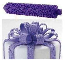 Purple Rolling pin Cake Decoration,Print press mold,Rolling Tools, Kitchenware(China (Mainland))