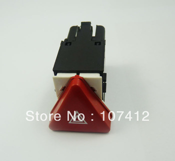 Free Shipping, (EMVW004) New Warning Emergency Hazard Light Switch Fit For VW Jetta Golf MK5 RABBIT Code 1K0953509A
