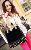 New Fashion  Style PU Leather Woman Lady Girls Tote Bag Handbag Channel Bag Shoulder Bag