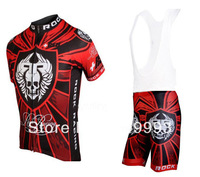 Free Shipping ! New Arrival Hot Sales Cycling Jersey Rock +Bib Short Set/Racing Jackets/Cycle Wear/Sport Cloth/ Biking Gear