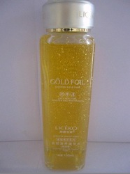 New products for gold foil brighten essense skin toner (moisten)(China (Mainland))