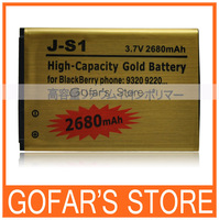 2680mah J-S1 High Capacity Battery for Blackberry Curve 9320 9220 30pcs/Lot Top Quality
