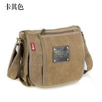 Free shipping(1pcs) 2013 vintage canvas men's shoulder bag Crossbody pocket,outdoor sport bags