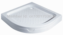 Quadrant acrylic base shower tray for bathroom(China (Mainland))