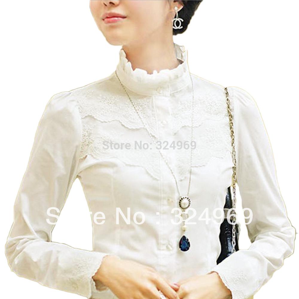 h Bureau Femmes Blanc Tops