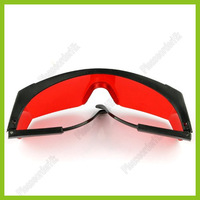 High Quality Stylish 532nm Green Laser Eyes Protection Polycarbonate Strengthen-Eyeglasses Free Shipping