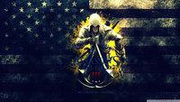 "022 ART PRINT Assassins Creed 3 iii ezio hot tv video Game 24"" x 14"" inch poster cloth"