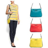 Candy colors Mango zipper single shoulder bag bicolor 150g Drop shipping  Wholesale Free Shipping