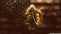 "021 ART PRINT Assassins Creed 3 iii ezio hot tv video Game 42"" x 24"" inch poster cloth"