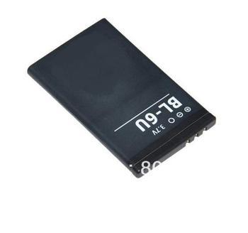 Free Shipping 20pcs/Lot Li-ion 3.7V 1100mAh OEM/Replacement battery BL-6U for Nokia 8820 8820E 8830E