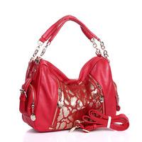 Women's handbag classic hot-selling women's bag bags 2012 bride women's handbag genuine leather