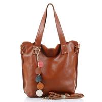 Women's handbag women's handbag 2013 cuicanduomu vintage brief full genuine leather bag cowhide women's handbag