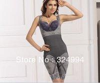 FREE SHIPPING 100PCS/LOT! Women's Magic slimming underwear, Body Shaper NATURAL bamboo body suit