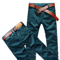 Wholesale and retail! Free Shipping! 2013 NEW Mens Fashion Designed Trousers Slim Fit casual pants (8668) Size W28-36