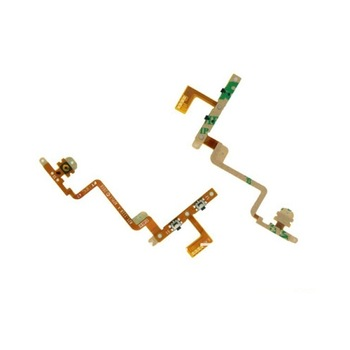 Wholesale Power Volume Button Flex Cable for ipod touch 4 10pcs/lot