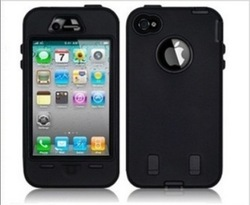 High Qulaity Hard Case for Iphone 4 4s tri-proof case dirtproof snowproof shockproof rainproof case part waterproof 10 color(China (Mainland))