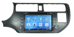 2012 KIA K3 RIO HD Car DVD Player GPS Navi Radio RDS. Free Map ,support steering wheel control(China (Mainland))