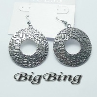 2012 fashion jewelry Latest design fashion Alloy earring  fashion jewelry nickel free Free shipping!