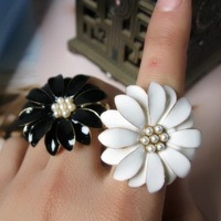 daisy florid fashion gentlewomen ring female