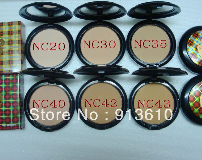 2013 HOT! 50 Pcs New Arrival 15g Studio Fix Compact Powder!6 Colors(China (Mainland))